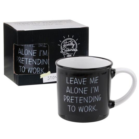 Strictly Business 'Pretending To Work' Boxed Mug