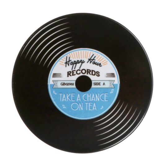 'Take A Chance on Tea' Record Coaster