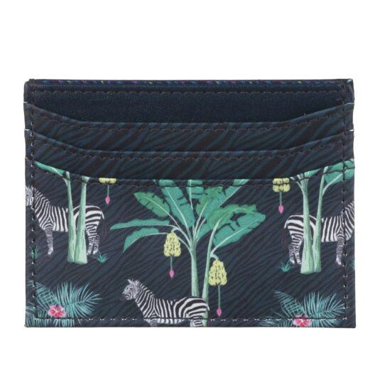 Jungle Zebra Card Holder