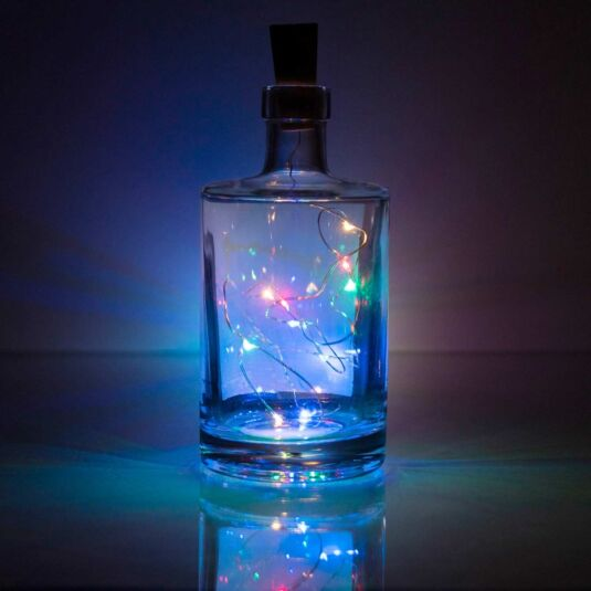 Eureka Rainbow LED Bottle Cork Light