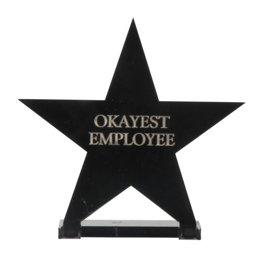 'Okayest Employee' Star Award