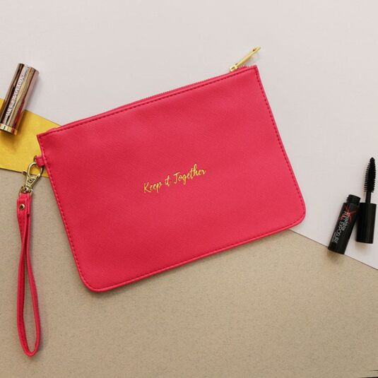 Willow & Rose Fuschia 'Keep It Together' Beauty Bag