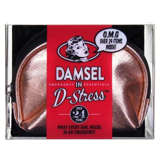 Rose Gold Damsel in D'Stress Emergency Essentials