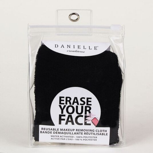 Black Erase Your Face Cloth
