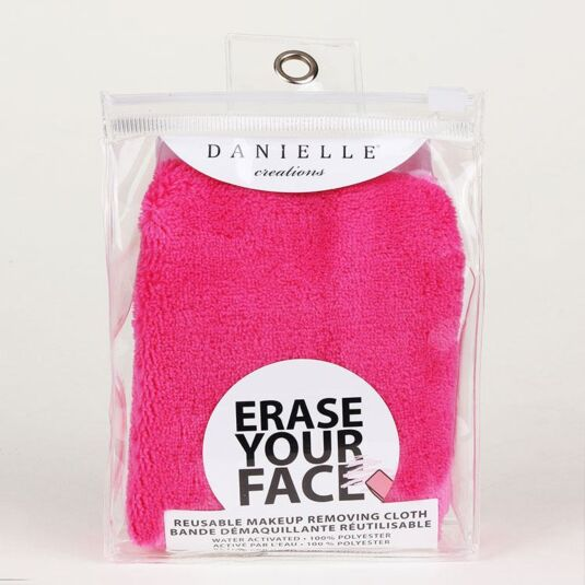 Pink Erase Your Face Cloth