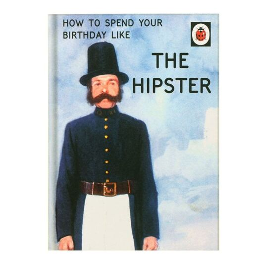 The Hipster Card