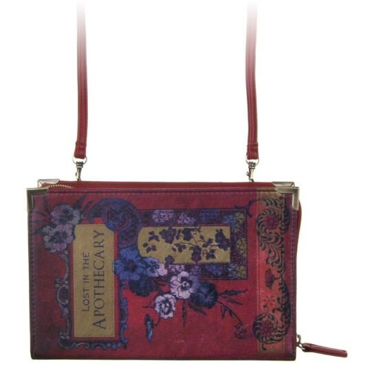 Book Club Red Clutch Purse