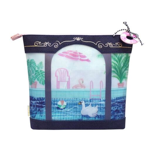 Boulevard Swimming Baths Wash Bag