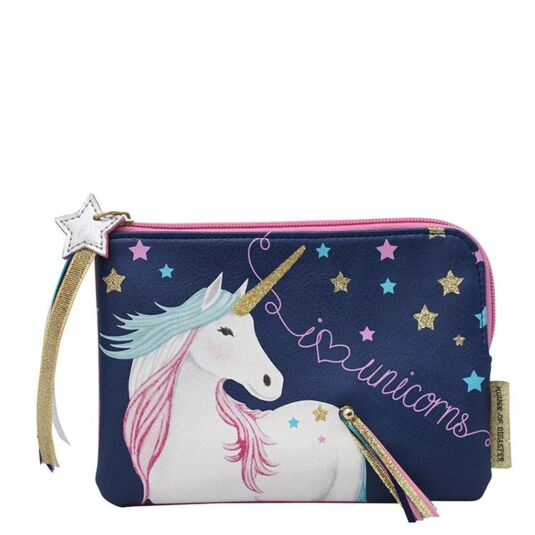 Candy Pop Unicorn Zip Pouch