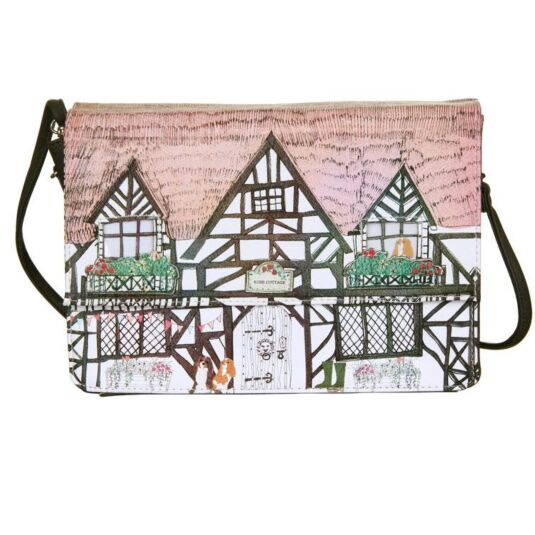 Home Tudor House Shaped Bag