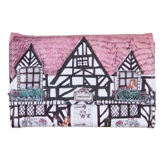 Home Tudor House Shaped Wallet