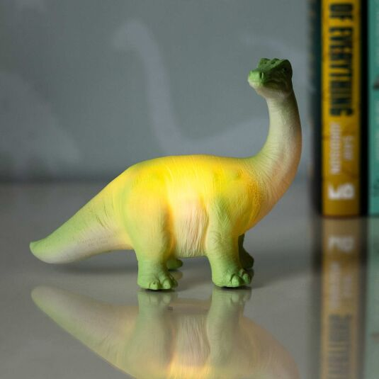 Small LED Green Diplodocus Light