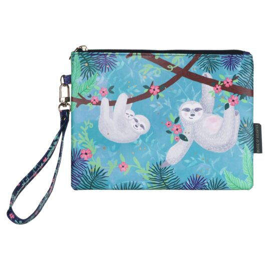 Over The Moon Sloth Pouch with Strap