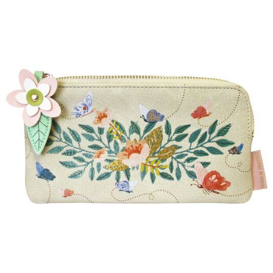 Secret Garden Flower Makeup Bag