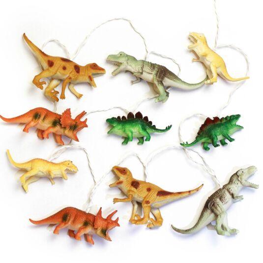 Set of 10 Dinosaur String Lights