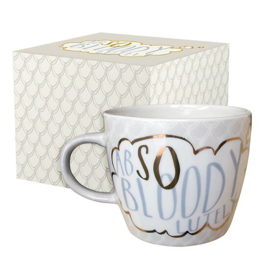 Yoo Hoo 'Absolutely' Boxed Mug