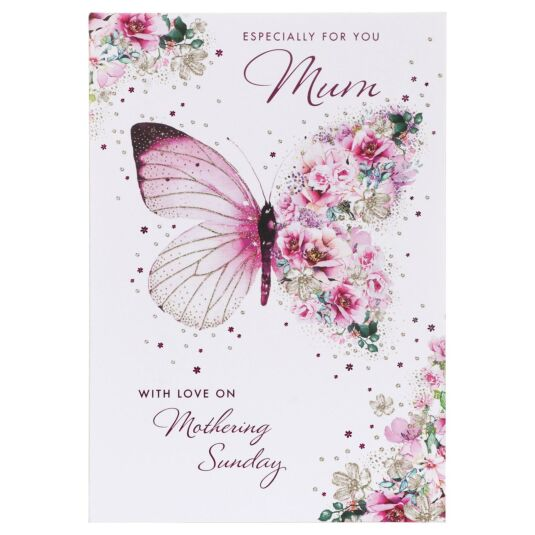 'Especially For You' Butterfly Mother's Day Card