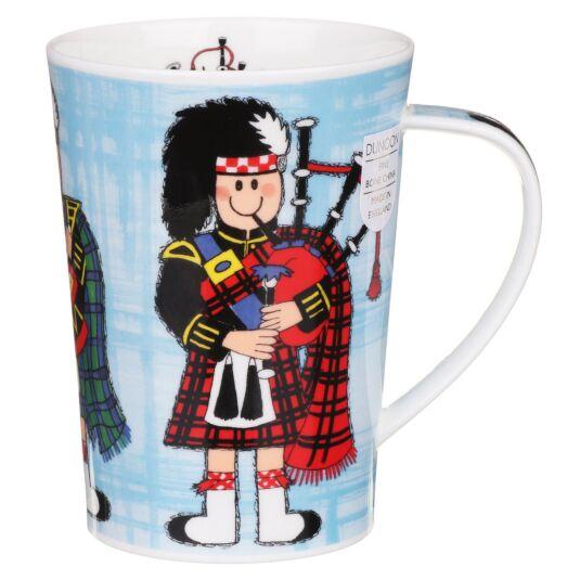 Highland Gathering Argyll Shape Mug