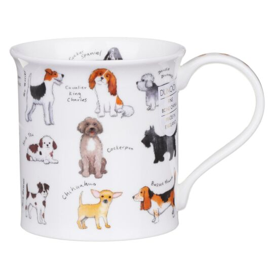 Animal Breeds Dog Bute Shape Mug