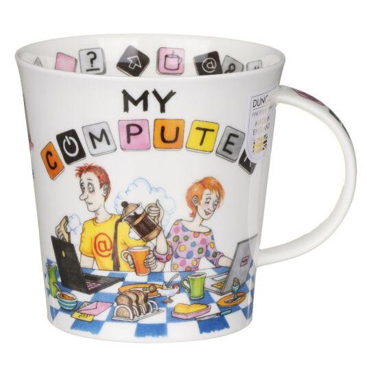 My Computer Cairngorm Shape Mug