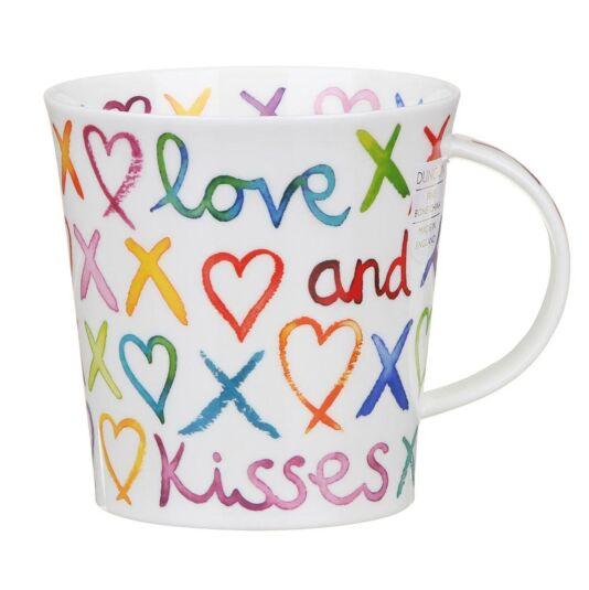 Love & Kisses Cairngorm Shape Mug