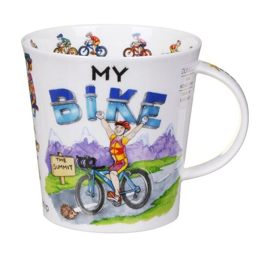My Bike Cairngorm Shape Mug