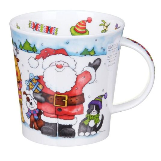 Santa's Friends Reindeer Cairngorm Shape Mug