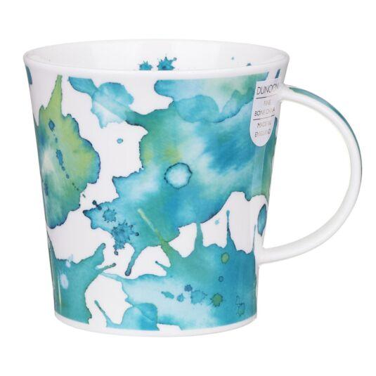 Splosh! Turquoise Cairngorm Shape Mug