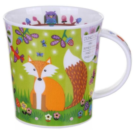 Enchanted Wood Fox Lomond Shape Mug