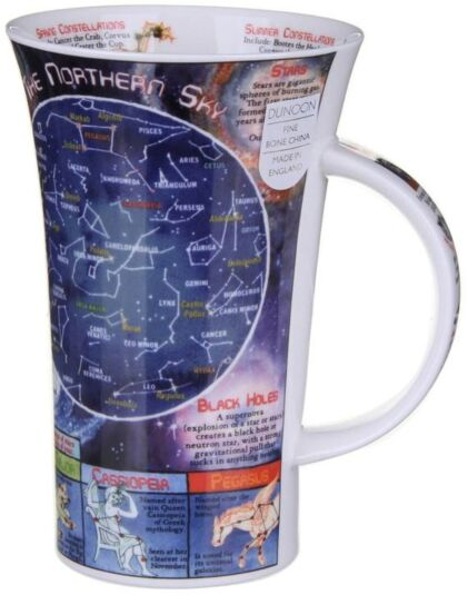 Night Sky Glencoe shape Mug