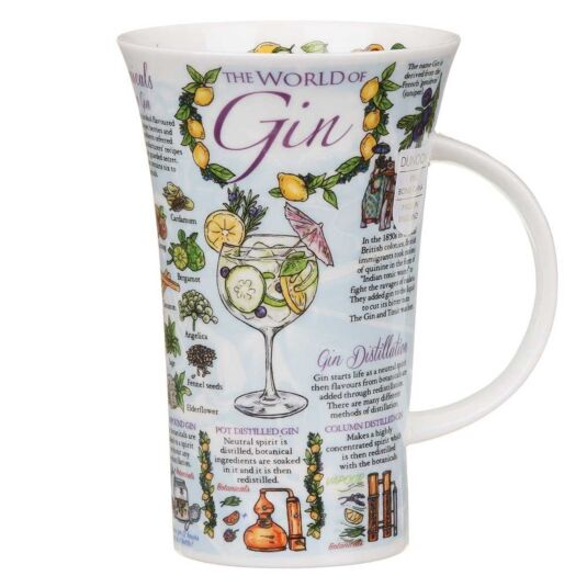 The World of Gin Glencoe Shape Mug