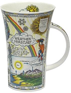 Weather Forecast Glencoe shape Mug