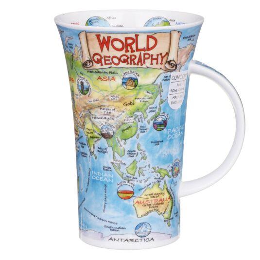 World Geography Glencoe Shape Mug