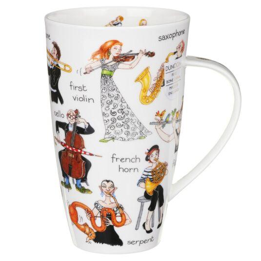 Musical Mayhem Henley Shape Mug