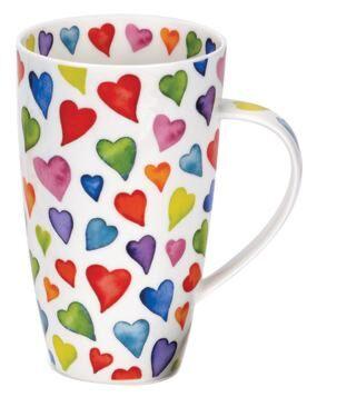 Warm Hearts Henley shape Mug
