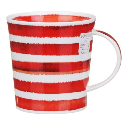 Hoopla! Red Lomond Shape Mug