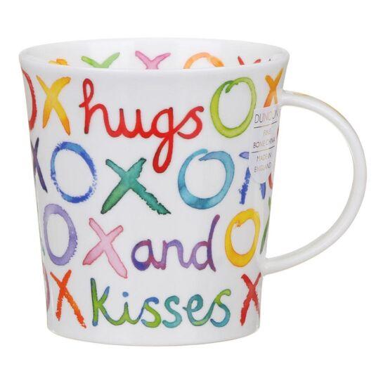 Hugs & Kisses Lomond Shape Mug