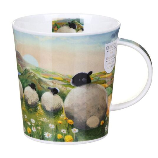 The Sheep Dandelion Lomond Shape Mug