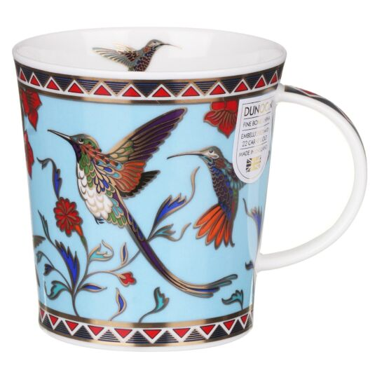 Zayna Blue Lomond Shape Mug