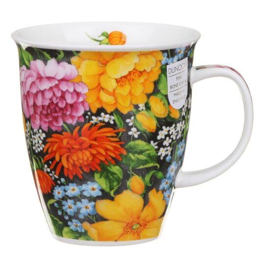 Romany Yellow Nevis Shape Mug