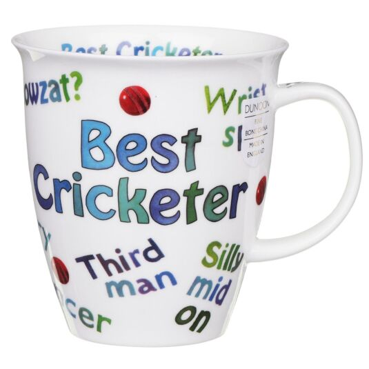 Sports Mania Cricket Nevis Shape Mug