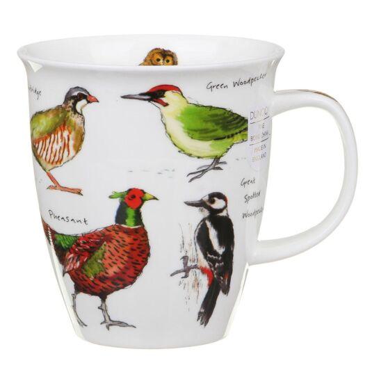 Woodland Birds Nevis Shape Mug