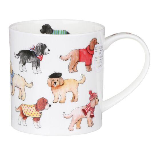 Dashing Dogs Cockapoo Orkney Shape Mug