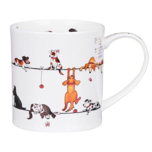 Live Wires Dog Orkney Shape Mug