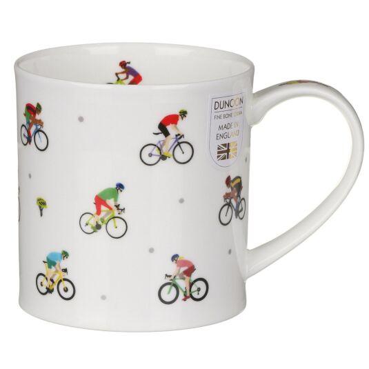 Sport Stars Cycling Orkney Shape Mug