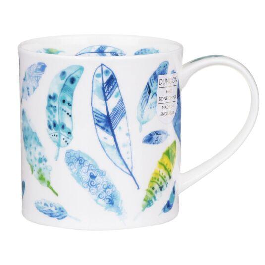 Pluma Blue Orkney Shape Mug