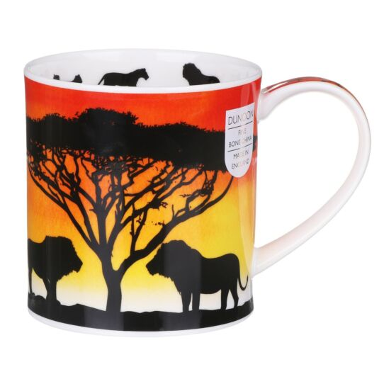 Savannah Lion Orkney Shape Mug