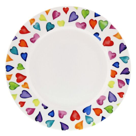Warm Hearts 22cm Boxed Cake Plate