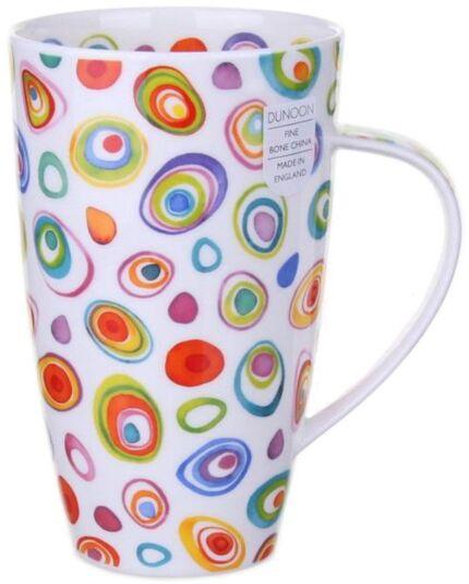 Razzmatazz Henley shape Mug