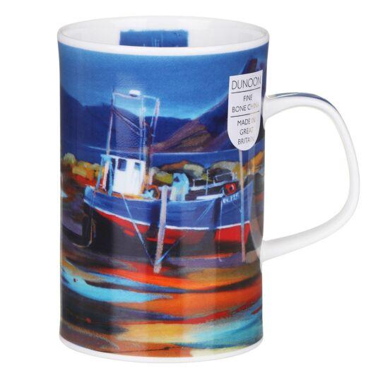 Island Shores Fishing Boat Windsor Shape Mug